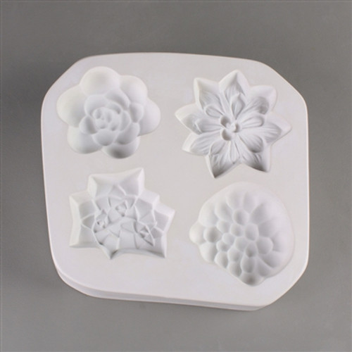 LF173 Small Succulents Glass Mold