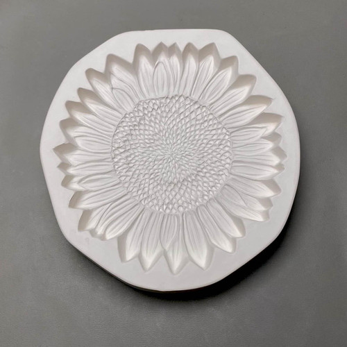 LF210 Sunflower Frit Cast Glass Mold