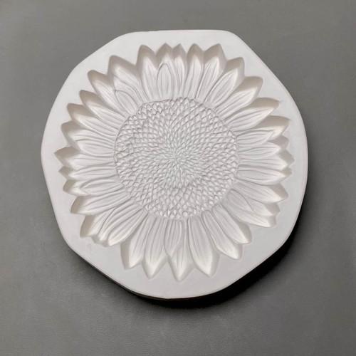 LF210 Sunflower Frit Cast Glass Mold
