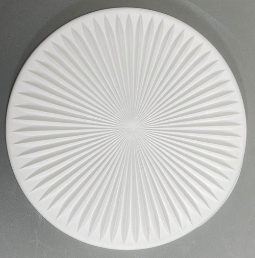 DT42 Starburst Round Texture Glass Mold