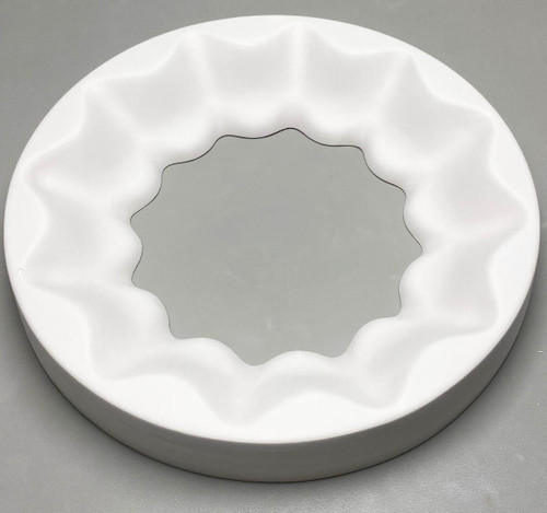 GM98 Scalloped Shelf Ring Glass Mold