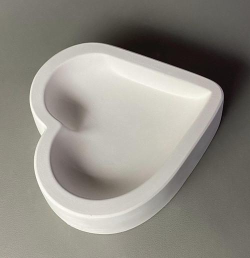 LF226 Heart Vertical Paperweight Glass Mold
