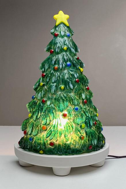 LF233 Christmas Tree Frit Glass Mold