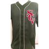 SCV Green Mesh Baseball Jersey