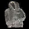 SCV Ladies Full Zip Distressed Shield