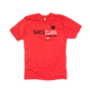 SCV Red Shield Basic Shirt with Black Print