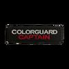 SCV Colorguard Captain Patch