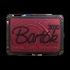 2010 Bartók Show Patch