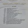 "Vanguard Cadets 2016 ""The One"" Tour T-Shirt"