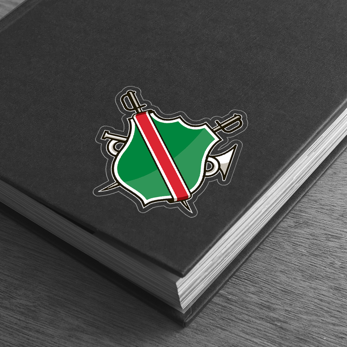 SCV Logo Decal Sticker