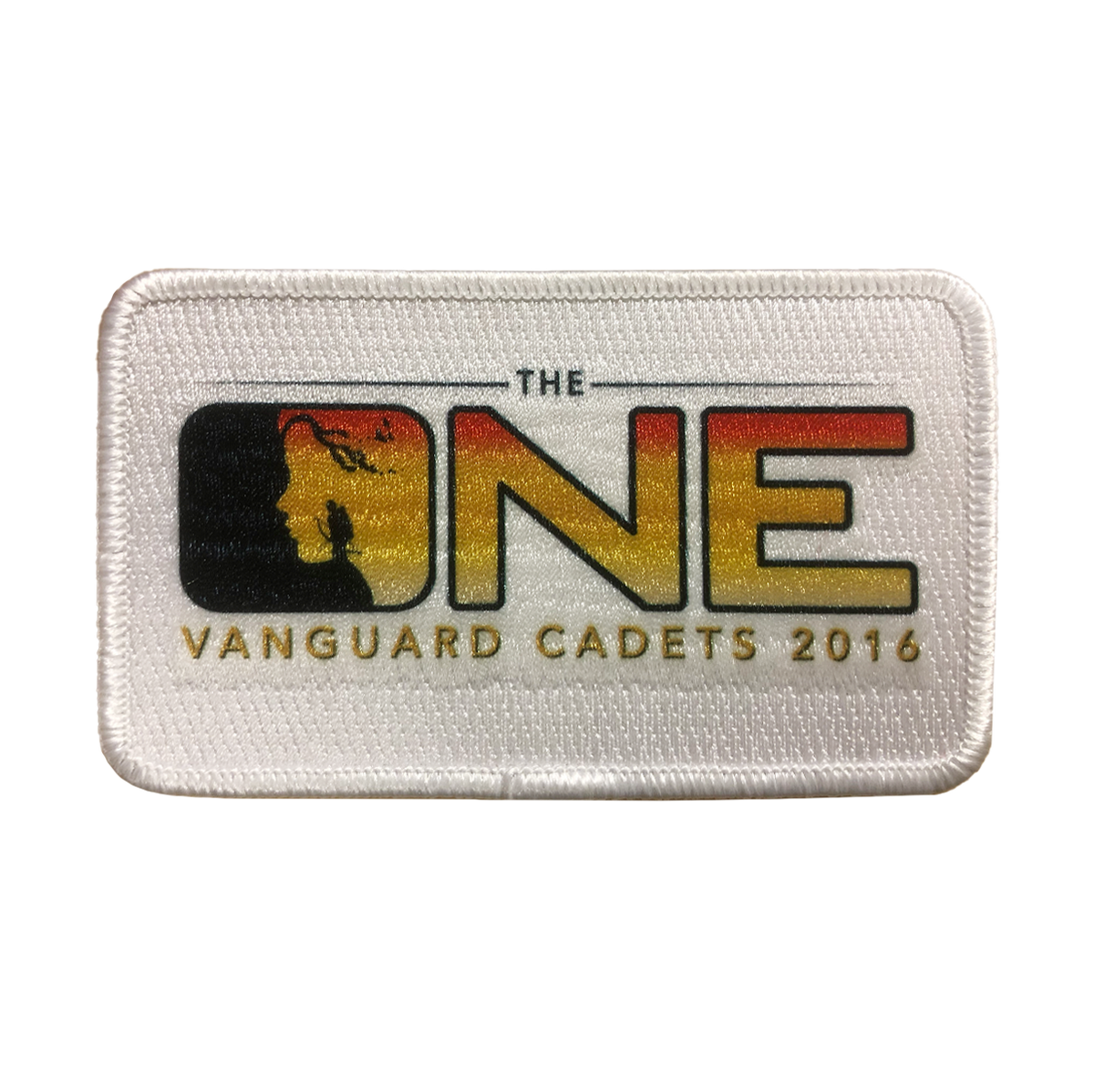 2016 The One Vanguard Cadets Show Patch