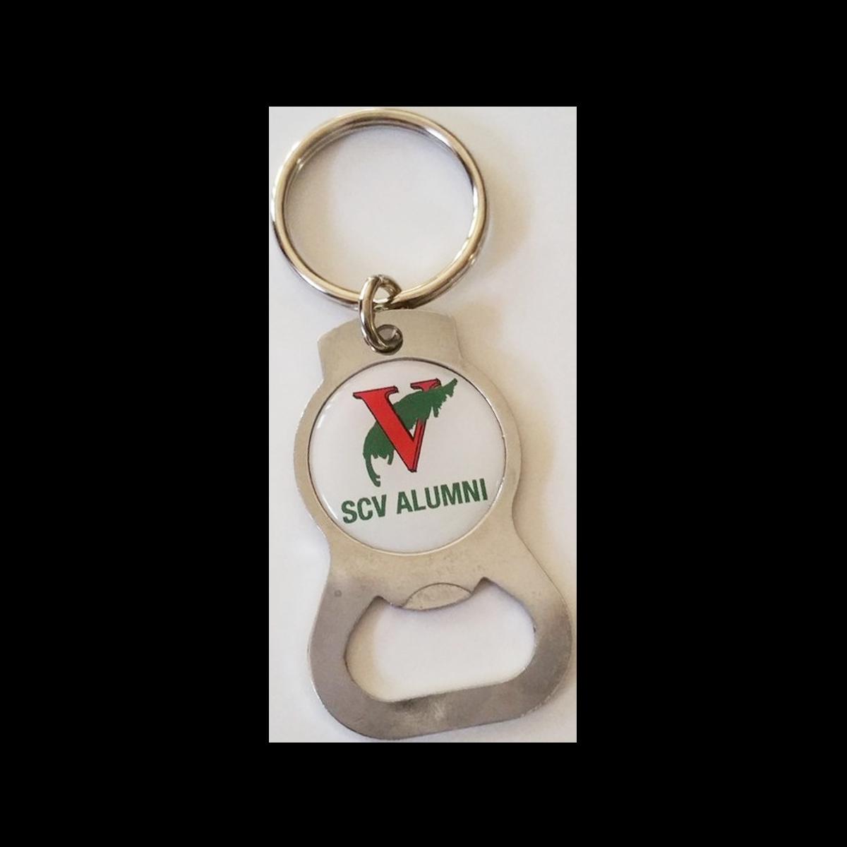 Alumni Keychain and Bottle Opener