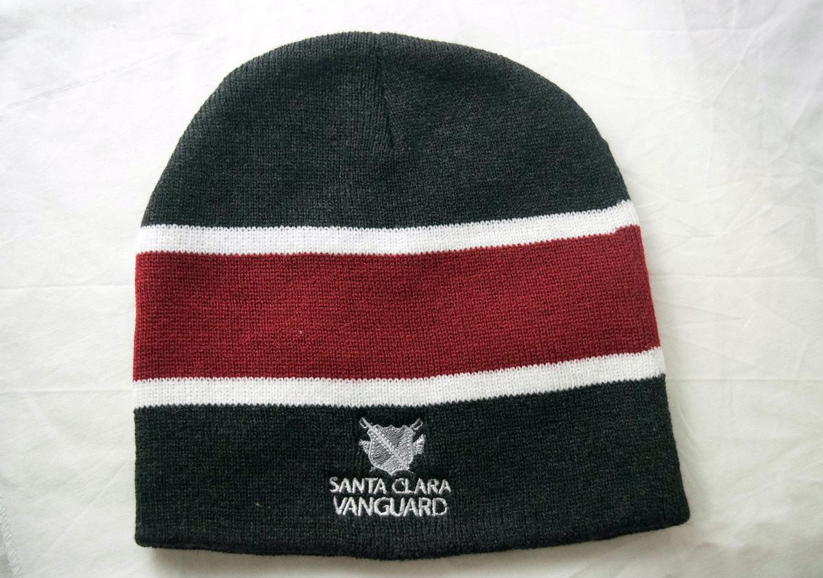 SCVanguard Striped Knit Beanie