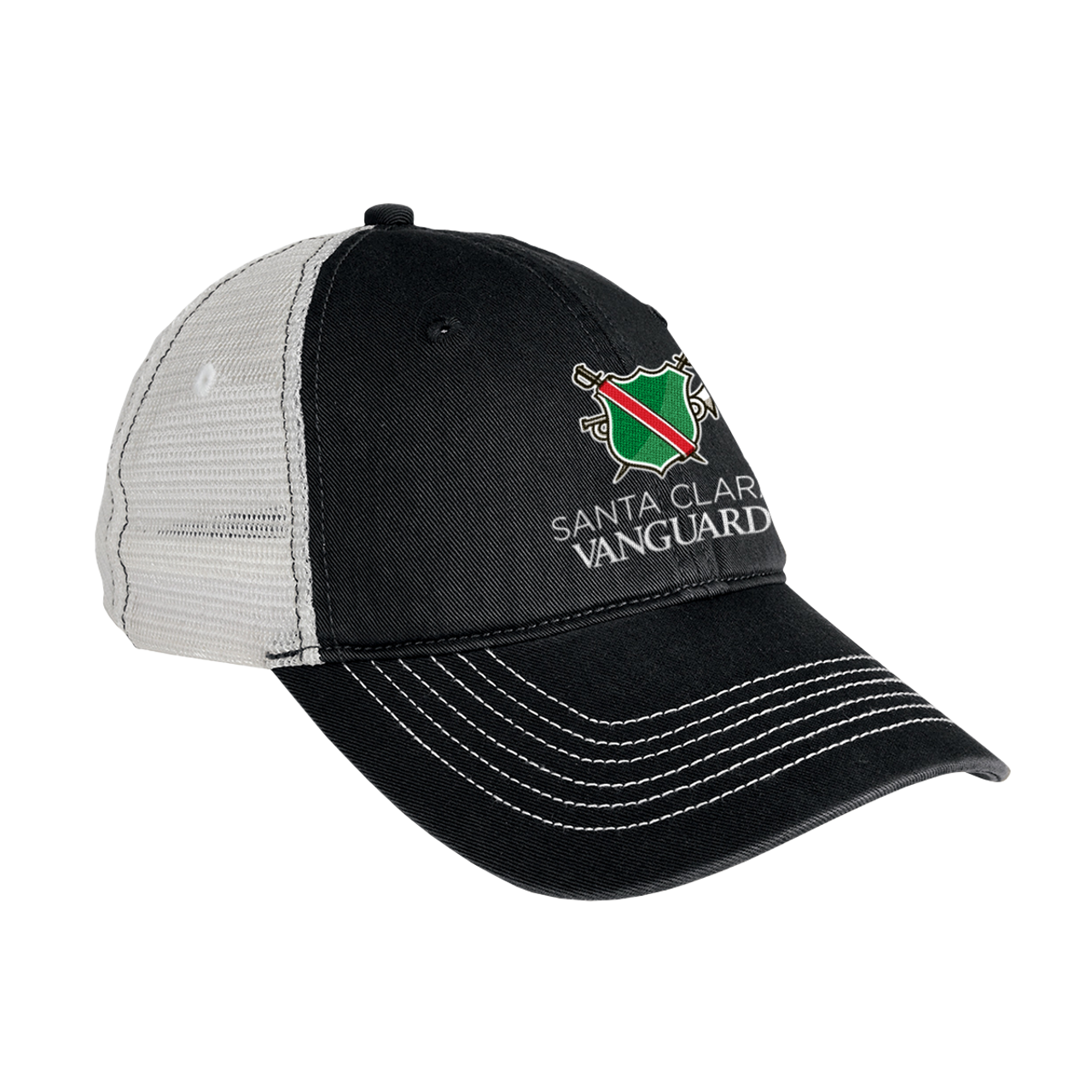 Santa Clara Vanguard Logo Cap 67 Pro Shop Vanguard Music Performing Arts