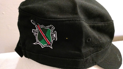 Vanguard Shield logo embroidered center back of cap