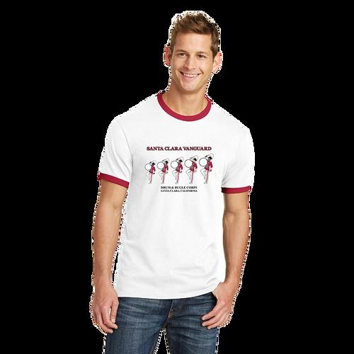 SC Vanguard Retro Drum Ringer T-Shirt