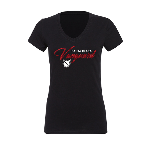 Shimmer Ladies V-Neck