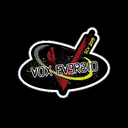 SCV 2019 Show Sticker