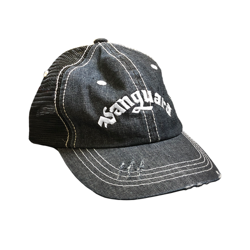 SCV Distressed Trucker Cap