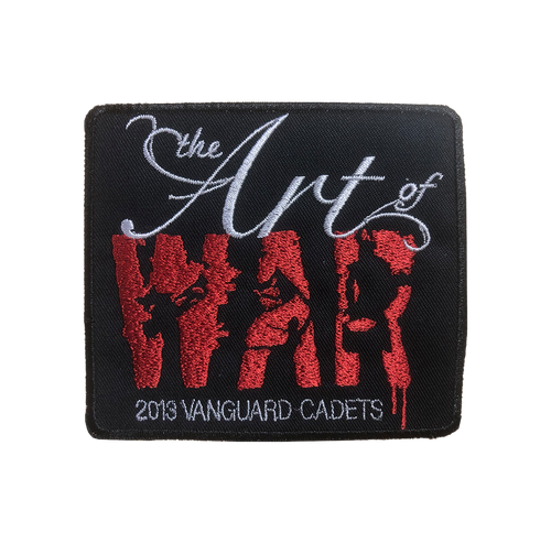 2013 The Art of War Vanguard Cadets Show Patch