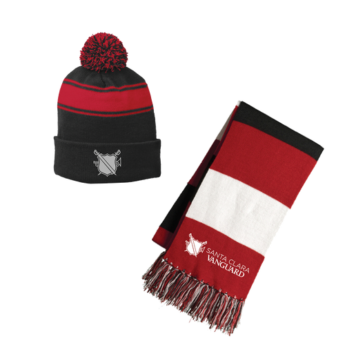 Limited Edition: SCV Logo Scarf and Beanie Bundle