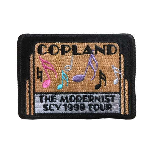 1998 Copland The Modernist Tour Patch