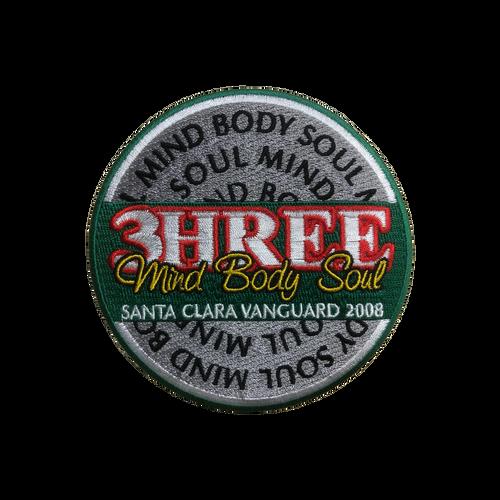 2008 3HREE Mind Body Soul Show Patch