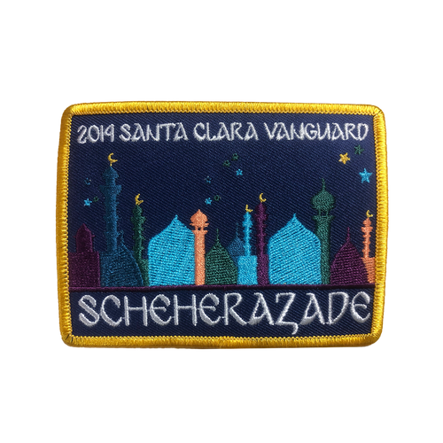 2014 Show Patch Scheherazade