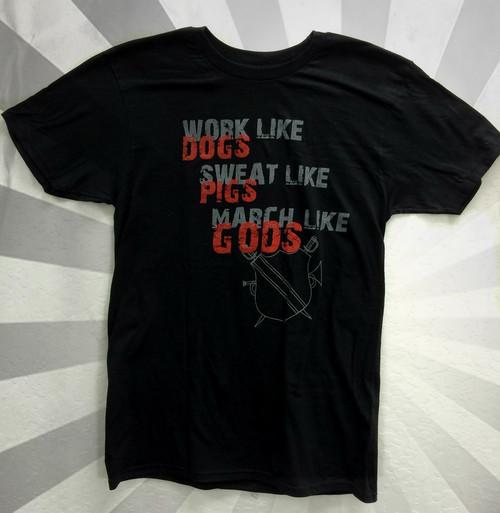 "Vanguard ""Work Like Dogs"" T-Shirt"