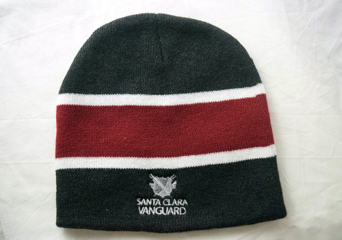 SCVanguard Striped Knit Beanie