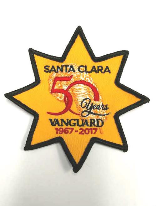 50th Anniversary Gold Star Patch