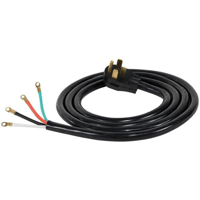 Range Cord 50A, 4 Wire, Black