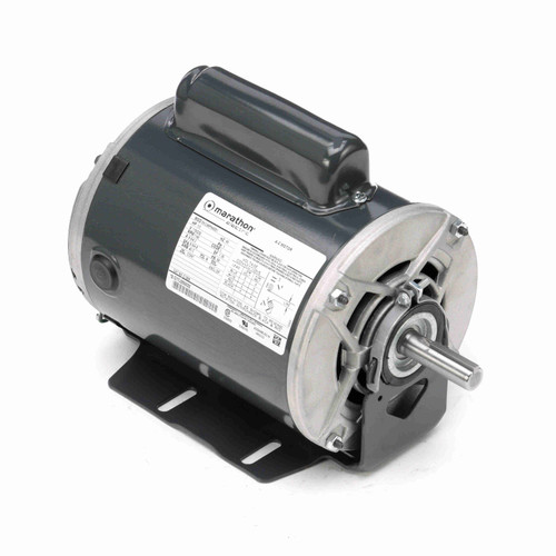 Marathon C1258 1/3 HP 1200 RPM 115/230 Volts General Purpose Motor