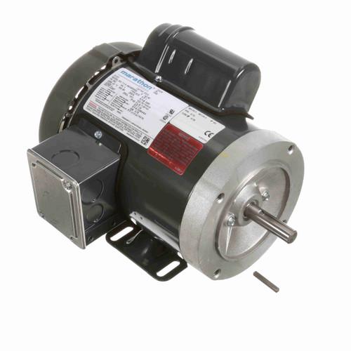 Marathon D313 1 HP 3600 RPM 115/208-230 Volts General Purpose Motor