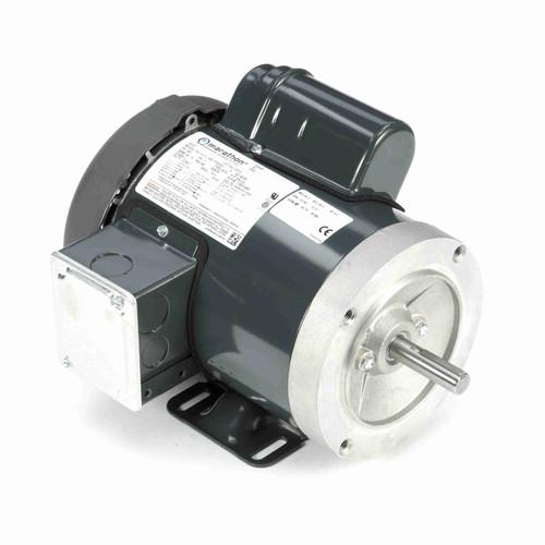 Marathon G572 3/4 HP 1800 RPM 115/208-230 Volts General Purpose Motor