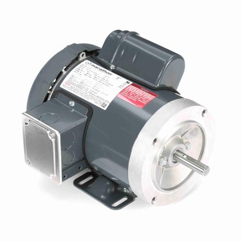 Marathon G576 1/3 HP 1200 RPM 115/208-230 Volts General Purpose Motor
