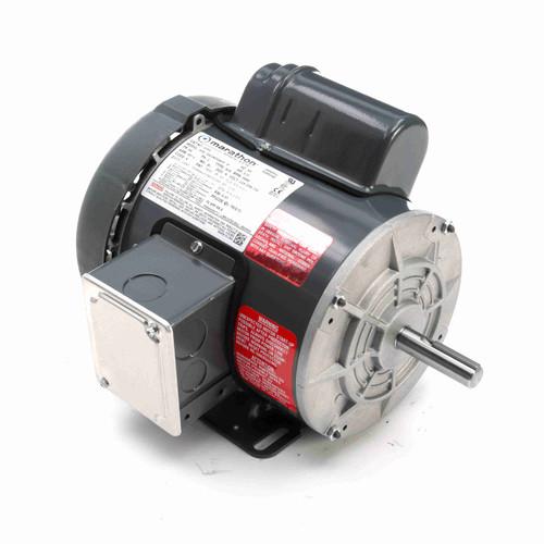 Marathon G393 1/2 HP 3600 RPM 115/208-230 Volts General Purpose Motor