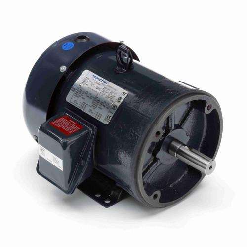 Marathon GT1209 3 HP 3600 RPM 230/460 Volts General Purpose Motor