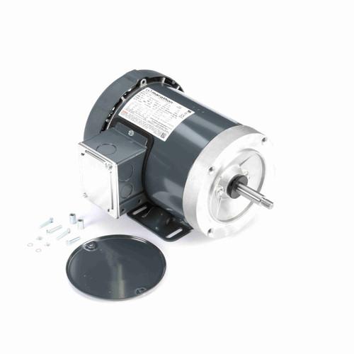 Marathon J061 1/2 HP 3450 RPM 208-230/460 Volts Carbonator Pump Motor