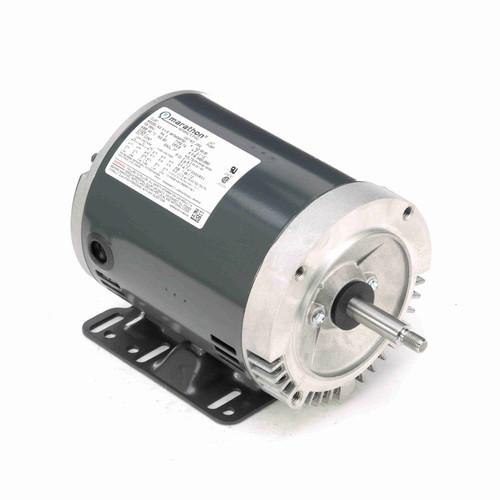 Marathon J052 2 HP 3450 RPM 208-230/460 Volts Carbonator Pump Motor