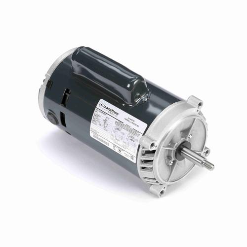 Marathon C335 1 HP 3450 RPM 115/208-230 Volts Carbonator Pump Motor
