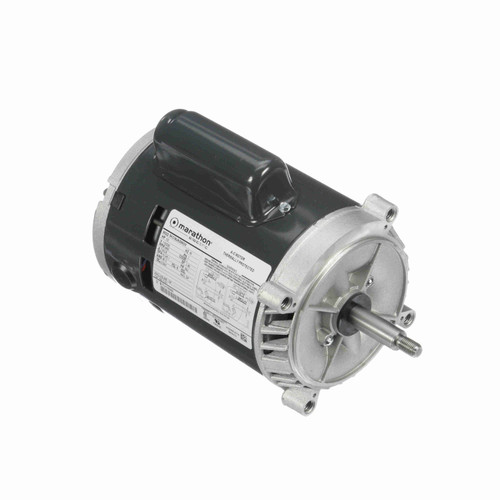 Marathon C331 1/2 HP 3450 RPM 115/230 Volts Carbonator Pump Motor