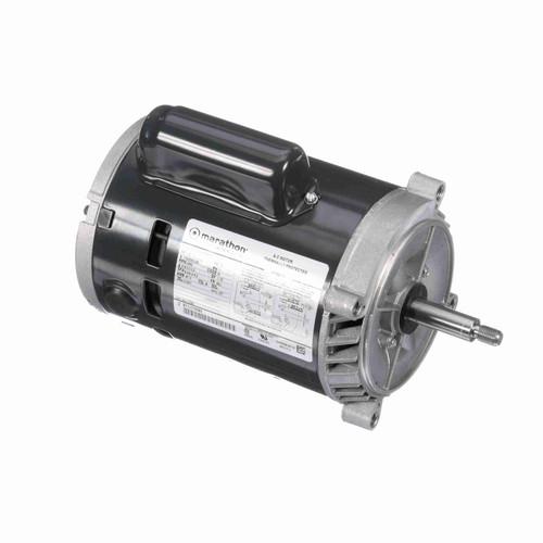 Marathon C329 1/3 HP 3450 RPM 115/208-230 Volts Carbonator Pump Motor