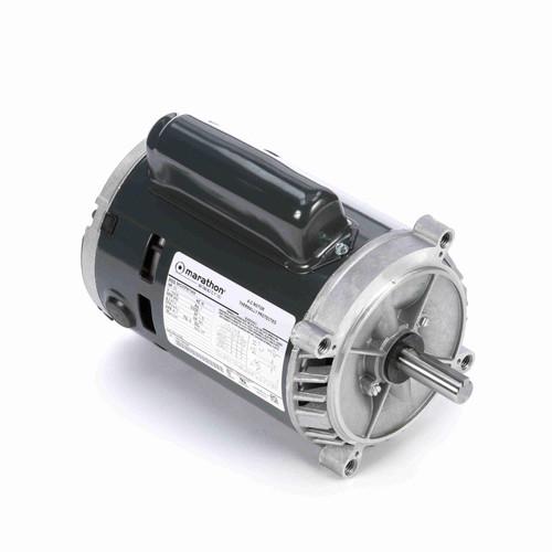 Marathon J1025 1/3 HP 3450 RPM 115/230 Volts Carbonator Pump Motor