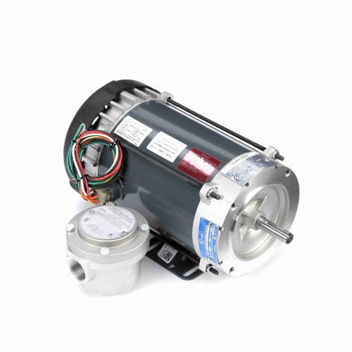 Marathon G876 1 HP 1800 RPM 115/208-230 Volts Explosion Proof Motor