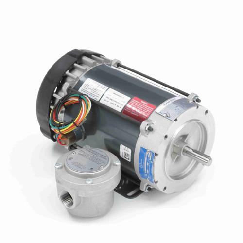 Marathon G873 3/4 HP 3600 RPM 115/208-230 Volts Explosion Proof Motor