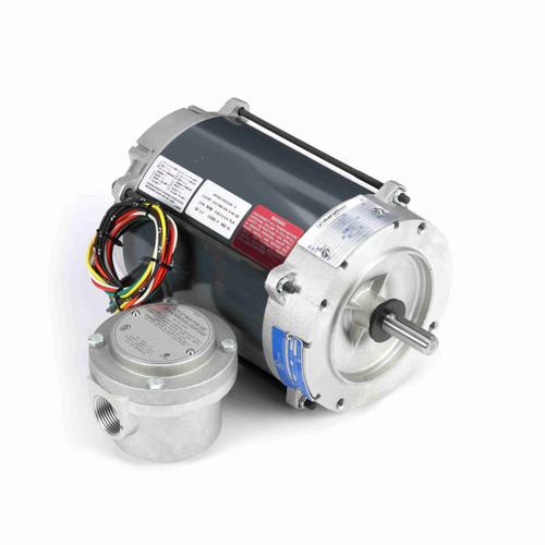 Marathon G852 1/4 HP 1800 RPM 115/208-230 Volts Explosion Proof Motor