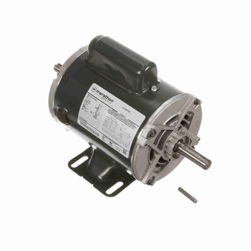 Marathon CG393 1/2 HP 1800 RPM 115/230 Volts General Purpose Motor