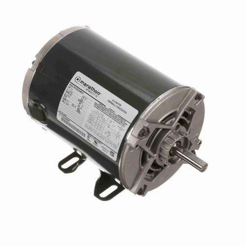 Marathon H691 1/3 HP 1425 RPM 110/220 Volts General Purpose Motor