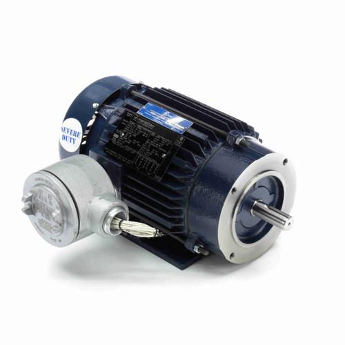 Marathon C363A 2 HP 1800 RPM 208-230/460 Volts Explosion Proof Motor
